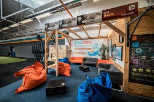 Aufenthaltsbereich / Lounge vor und nach dem Funktionalen Training bei Argo Athletics